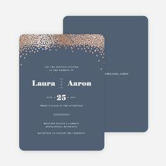 Confetti of Joy Wedding Invitations from Paper Culture