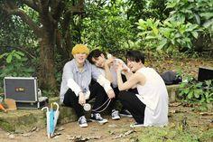 Jackson, Youngjae and Yugyeom
