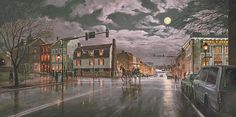 King Street by Moonlight