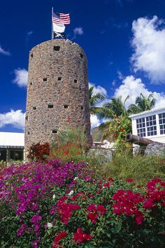 Tower of Blackbeard's Castle, Charlotte Amalie, St Thomas, USVI