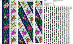 Схемы жгутов из бисера крючком от Марии Глуховой | ВКонтакте
