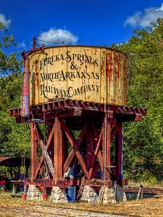 Eureka Springs Water Tower, Arkansas