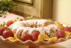 """Nutty Orange Coffee Cake from FoodNetwork.com- Fresh orange """"deliciousness"""" that never disappoints!"""