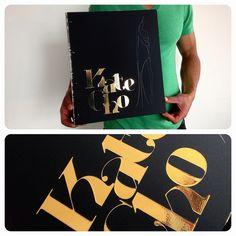 Custom fashion design portfolio book from kloportfolios.com
