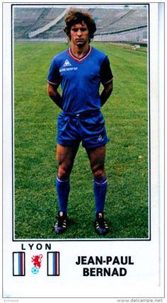 panini football 77 1977 lyon ol olympique lyonnais Jean Paul Bernad 121