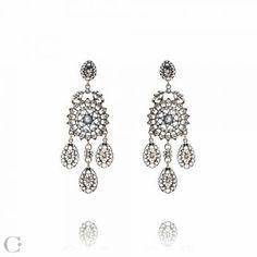 Bijuterii Statement :: Cercei Statement Statement Earrings, Diamond Earrings, Jewelry Accessories, Beauty, Diamond Studs, Beleza, Cosmetology, Diamond Drop Earrings