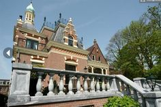 Detached villa very representative of exceptional allure, built in 1894 and in 2001/2002 at a very high level, fully restored inside and out with all the original details remain. Rotterdam, Netherlands