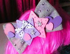 MISS ALPHABET fairy pop kei spank acid wash denim by missalphabet, $20.00