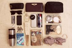 Submitted by: solittlebutstillsoreal:  What's In My Bag July 2013