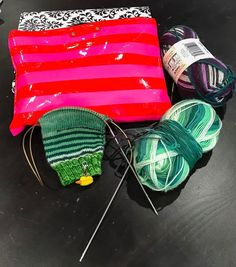 I was tagged by the lovely and talented @yarnenabler for #widn - I've finished my soooper seeekrit project and now I'm knitting on a simple pair of socks for myself.  #saturdaynightdoneright I tag @yarnesty @kniterations @pattymacknits and anyone else who wants to play.