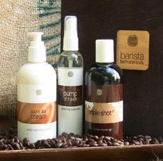 Barista Bath & Body Coffee AM b by CoffeeAM. $53.95. Exclusive to CoffeeAM, this gift set from Barista Bath & Body is the perfect remedy for dry skin: Triple Shot: A 3-in-1 shower gel that hydrates and energizes as it exfoliates your skin. Made with organic coffee and vitamin E, Triple Shot soothes your senses while leaving your skin soft and moisturized. Room for Cream: A rich and nourishing non-greasy body crème enriched with vitamin E that softens your skin as it mois...