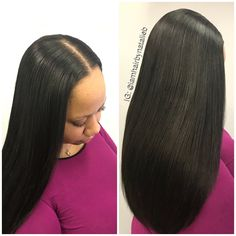 Your sew-in hair weave should look like it's growing right out of your scalp!!! NO HUMPS • NO LUMPS • NO BUMPS‼️ Neat & Flat Installations‼️ ***Call or text Natalie B. at (312) 273-8693 to schedule your appointment!  ***Make sure you follow me for more hair pics! IG: @iamhairbynatalieb FB: Hair by Natalie B.