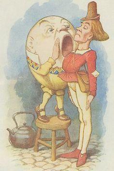 Humpty Dumpty  Artist: Sir John Tenniel