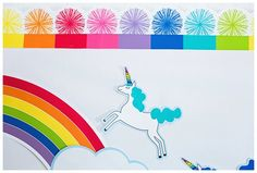 Unicorn cutouts are the perfect addition to my collection. They aren't available in stores, but you can purchase them in… Love Rainbow, Rainbow Theme, Rainbow Colors, Teacher Supply Store, Teacher Supplies, Birthday Tags, Blue Birthday, Classroom Themes, Classroom Organization