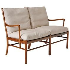 """""""Colonial"""" Settee by Ole Wanscher 