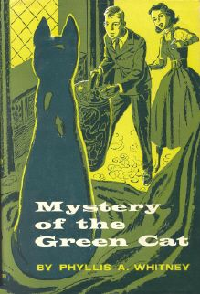 Mystery of the Green Cat- when the twins brothers Dad marries a lady who has two daughters, they must learn to get along. And then one of the twins and the eldest girl discover they are both interested in a mystery...