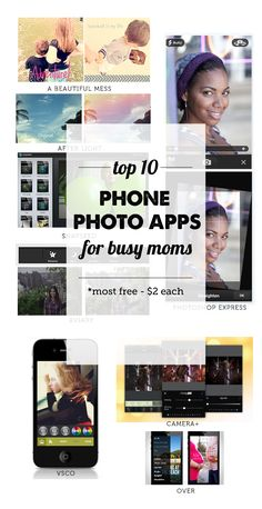 Best Phone Photo Apps for Moms - Modern Parents Messy Kids