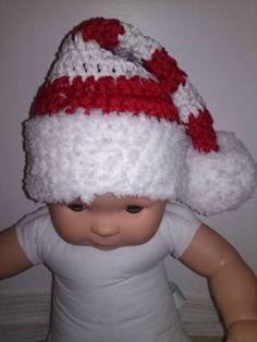 Bonnet de Noël au crochet