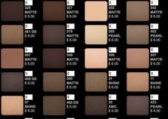 Inglot eyeshadow screenshots 2