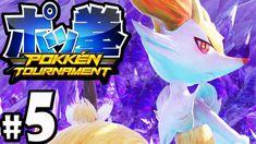 Pokken Tournament Gameplay Walkthrough Braixen Shadow Mewtwo by SwimmingBird941