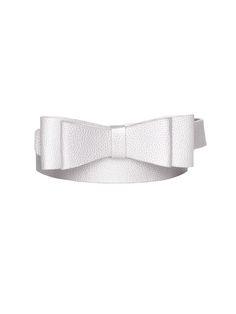 Maddie Bow Belt | Silver | Belts