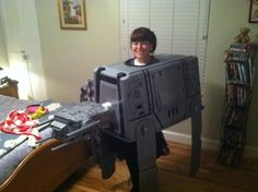 home made star wars costumes | my homemade Star Wars Imperial Walker AT-AT costume - Imgur