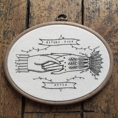 Memorial Stitches is the brainchild of Carrie Violet, an English artist whose embroideries are inspired by the renowned illustrator Edward Gorey.