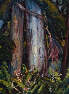 Arthur Lismer - Forest Tree 16 x 12 Oil on canvas board Canvas Board, Oil On Canvas, Painting, Art, Art Background, Painted Canvas, Painting Art, Kunst, Paintings