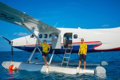 the best job in the world -  a seaplane pilot in the South Pacific.  doesn't really get any better than that.