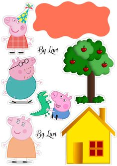 peppa pig Topper bolo Topper bolo - Topper bolo Topper bolo Chuck a new birthday celebration thats very simple, stylish, plus excellent! Tiny piggies will love trying Bolo Da Peppa Pig, Cumple Peppa Pig, Peppa Pig Birthday Cake, 2nd Birthday, Special Birthday, Birthday Celebration, Peppa Pig Wallpaper, Peppa Big, Peppa Pig House