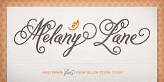 Melany Lane & patterns too