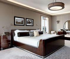Art Deco Bedroom -Luxury Homes-Houzz.com