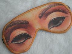 Freak Them Out Sleep Mask NEFERTITI  by FreakyOldWoman on Etsy