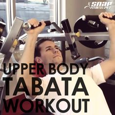 Upper Body Tabata Workout | Snap Fitness