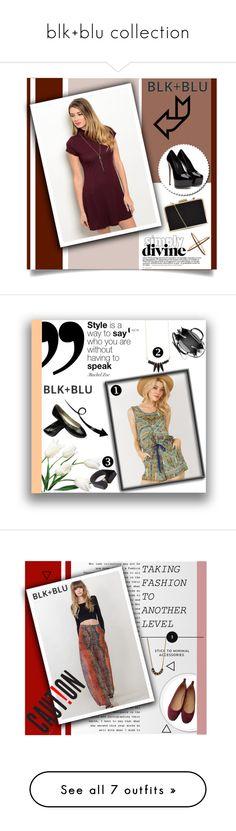 """blk+blu collection"" by shambala-379 on Polyvore featuring Eva Fehren, GetTheLook, blknbluonline, Mirandadress, Balenciaga, MANGO, Chantecaille, Chanel, ootd and BerryGirlSkirt"