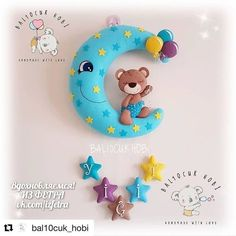 ИЗ ФЕТРА. МК и выкройки. Felt Wreath, Felt Garland, Felt Ornaments, Felt Animal Patterns, Felt Crafts Patterns, Baby Crafts, Diy And Crafts, Felt Name Banner, Pregnancy Gifts