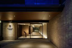 A.N.D. | NOMURA Co.,Ltd. - Projects Architectural Lighting Design, Home Lighting Design, Facade Lighting, Lighting Concepts, Interior Lighting, Office Entrance, Entrance Design, Facade Design, Mansion Homes