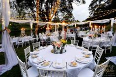 A wonderful outdoor wedding!