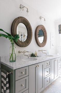 Bathroom Designs Restoration Hardware printmakers double vanity sink | restoration hardware | baño