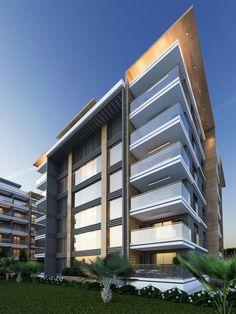 Lovely #mimarlık #mimari #dış #cephe #tasarım #3d #building #design · Modern  Architecture HouseFacade ...