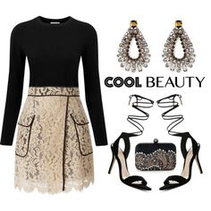A fashion look from January 2016 featuring Pure Collection sweaters, MSGM skirts and ALDO sandals. Browse and shop related looks.