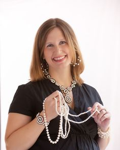 The Pearl Girls! All Southern Girls should know your pearls! Click to read more...