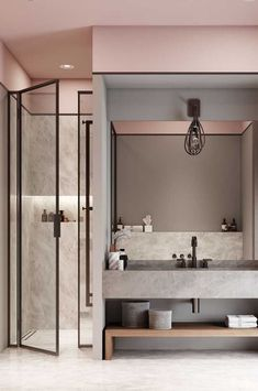 Luxury Bathroom Master Baths Rustic is definitely important for your home. Whether you pick the Interior Design Ideas Bathroom or Luxury Master Bathroom Ideas, you will make the best Luxury Bathroom Master Baths With Fireplace for your own life. Bathroom Interior Design, Modern Interior Design, Interior Decorating, Bathroom Designs, Bathroom Ideas, Basement Bathroom, Bathroom Black, Bathroom Faucets, Bathroom Goals