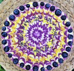 Stephen McCarty - Vegan Mandala Cakes #cake #mandala #psychedelic