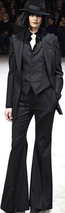 Yohji Yamamoto Fall 2013 ♥✤   Keep the Glamour   BeStayBeautiful