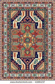 Armenian dragon carpet - Google Search