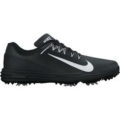 7d48f580ca24a7 Black White Nike Ladies Lunar Command 2 Golf Shoes. More ladies shoes at