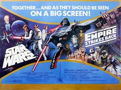 Star Wars New Hope and Empire Strikes Back (double bill) - 1980