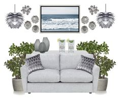 """""""Evening Tonic"""" by bcurryrice on Polyvore featuring Sia, Crate and Barrel, LINLEY, Vitra, Palecek, Barclay Butera, Uttermost and Mitchell Gold + Bob Williams"""