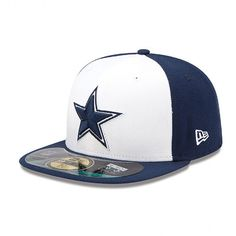 New Era NFL Authentic On Field Dallas Cowboys Game 59FIFTY Dallas Cowboys  Hats bf6b6a0d619